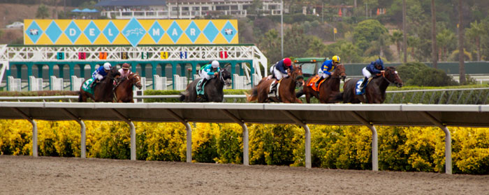 Race at Del Mar Thoroughbred Club
